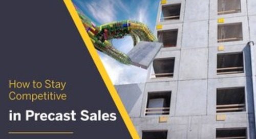 How to Stay Competitive in Precast Sales