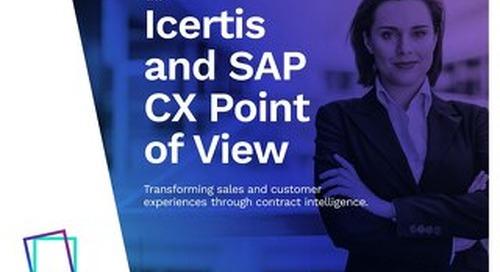 Icertis SAP CX Point of View