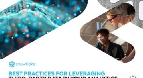 Best Practices for Leveraging Third-Party Data in Your Analytics