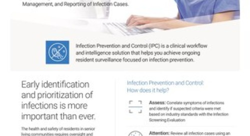 Solution Sheet: Infection Prevention and Control for Senior Living