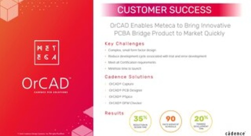Meteca and OrCAD Success Story