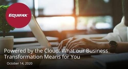 Powered by the Cloud Webinar