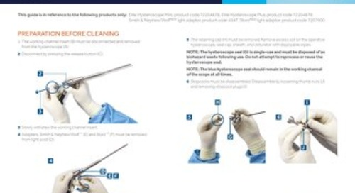 TruClear™ System Elite Hysteroscopes - CLEANING AND STERILIZATION GUIDE