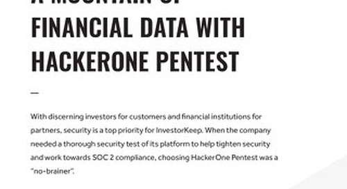 Investorkeep Secures A Mountain Of Financial Data With Hackerone Pentest