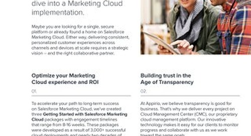 Salesforce Marketing Cloud for Payers and Providers