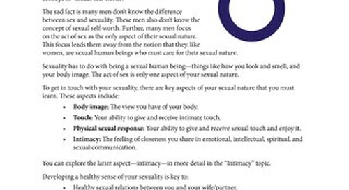 12 Sexuality