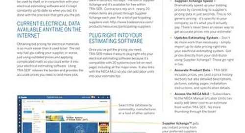 TRA-SER Datasheet