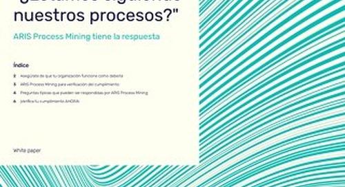 ¿Estamos siguiendo nuestros procesos?
