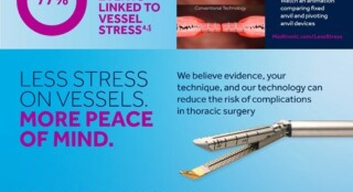 Infographic: Endo GIA™ Curved Tip Reload with Tri-Staple™ Technology
