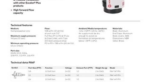 P84F Datasheet