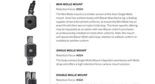 Body-Worn Camera Mounts - A Guide
