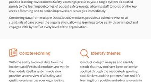 RLDatix Safety Learnings