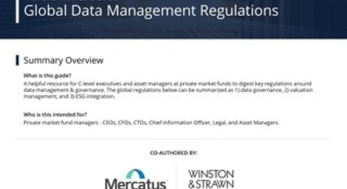 Global Data Management Regulations