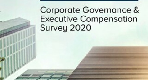 2020 Corporate Governance and Executive Compensation