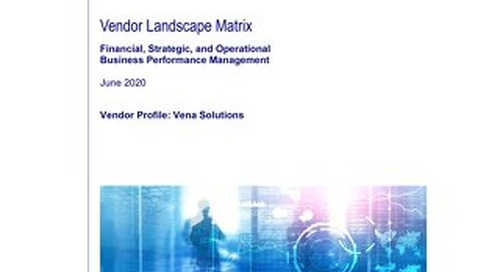 Vendor Landscape Matrix - June 2020