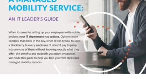 Implementing A Managed Mobility Service Guide
