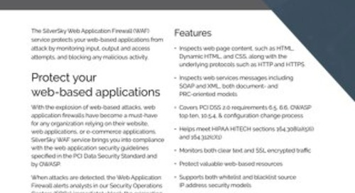 SilverSky Web Application Firewall
