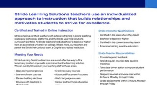 K12 Instructional Services
