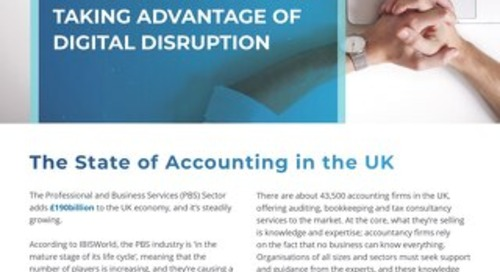 The Key to Growth for Accounting Firms Taking Advantage of Digital Disruption