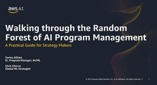 Walking through the Random Forest of AI Program Management - A Practical Guide for Strategy Makers