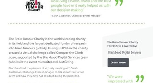 The Brain Tumour Charity | Digital Services