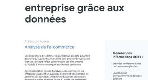 E-commerce: Gérez votre entreprise grâce aux données