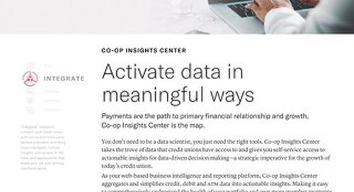 CO-OP Insights Center Slipsheet