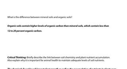 Ward's World+McGraw Hill's AccessScience Soil Chemistry_TeacherKey