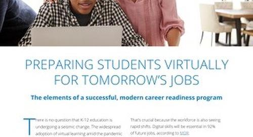 Preparing Students Virtually for Tomorrow's Jobs