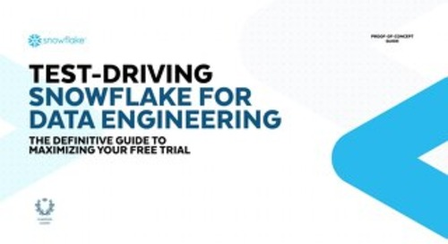 Test-Driving Snowflake for Data Engineering