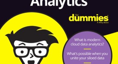 Cloud Data Analytics for Dummies