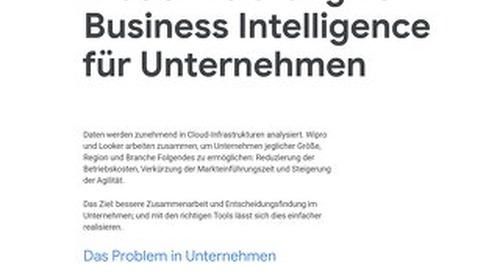 Modernisierung von Business Intelligence für Unternehmen