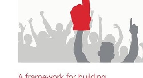 A framework for building customer loyalty