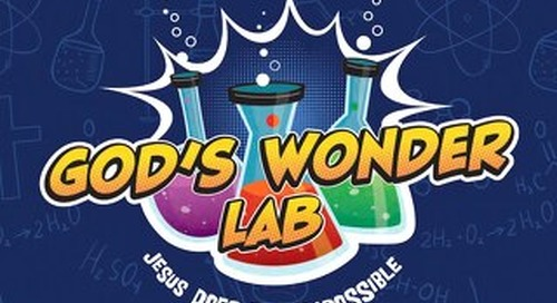 God's Wonder Lab | VBS 2021 Catalog
