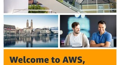 Welcome to AWS, Zurich