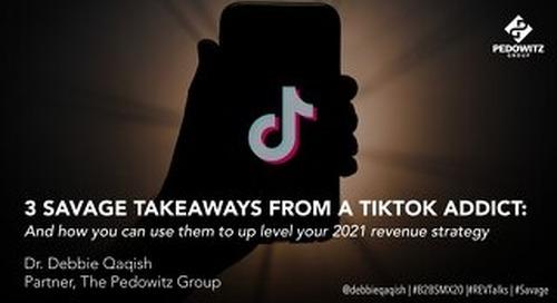[Webinar Slides] How TikTok Can Shape Your 2021 Revenue Strategy (B2BSMX 2020, REVTalks)