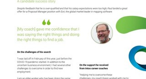 Intoo Candidate Success Story - Paul Wilson