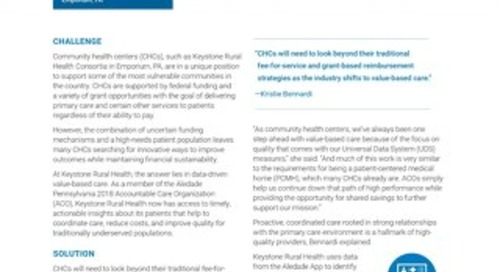 Community Health Center Leverages Data to Strengthen Proactive Coordinated Primary Care