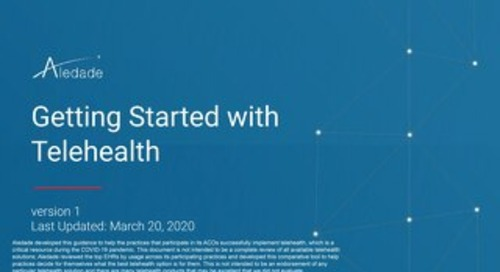 A Guide to Getting Started with Telehealth