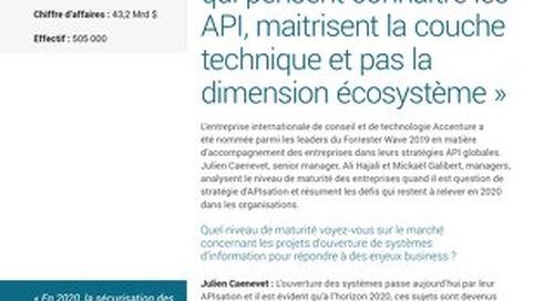 Trop souvent, ceux qui pensent connaître les API, maitrisent la couche technique et pas la dimension écosystème