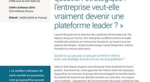 Derrière les API, une question stratégique : l'entreprise veut-elle vraiment devenir une plateforme leader ?