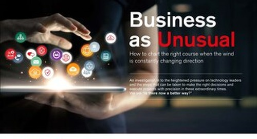 Business as unusual | Is there now a better way?