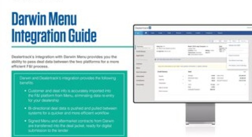 Darwin Integration User Guide