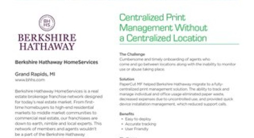 Real-Estate Case Study Berkshire Hathaway