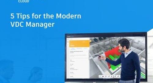 5 Tips for the Modern VDC Manager