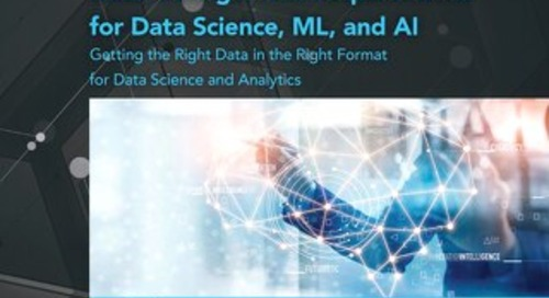 TDWI Checklist: Data Management Requirements for Data Science, ML, and AI