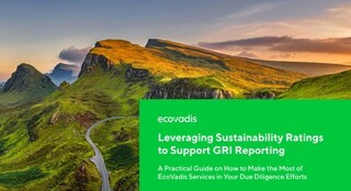 Leveraging Sustainability Ratings to Support GRI Reporting