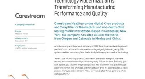 Carestream Health Case Study