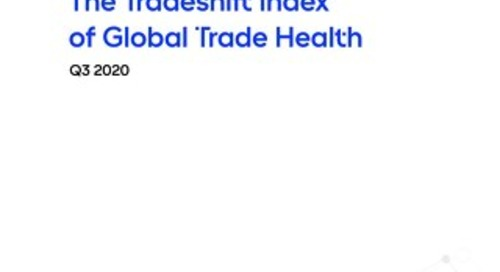 Tradeshift's Index of Global Trade Health Report Q3 2020