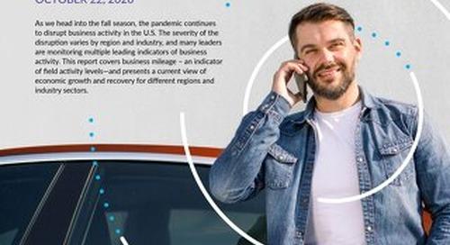 2020 Driving Activity Report - October 22